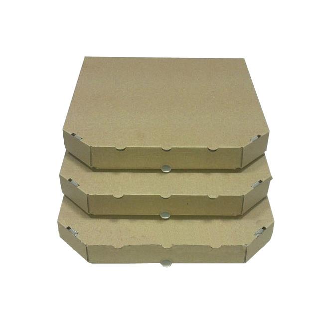Коробки для пиццы бурые