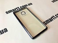 Силиконовый TPU чехол Skyline для Huawei P9 Lite темно серый, фото 1