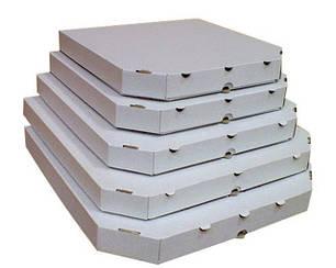 Коробки для піци білі