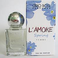 Парфюмерная вода для женщин L'Amore Spring мини, 10 мл (Carlo Bossi)