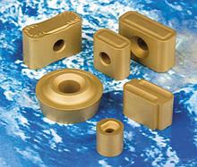 Пластины и резцы для обработки колесных пар и рельсов