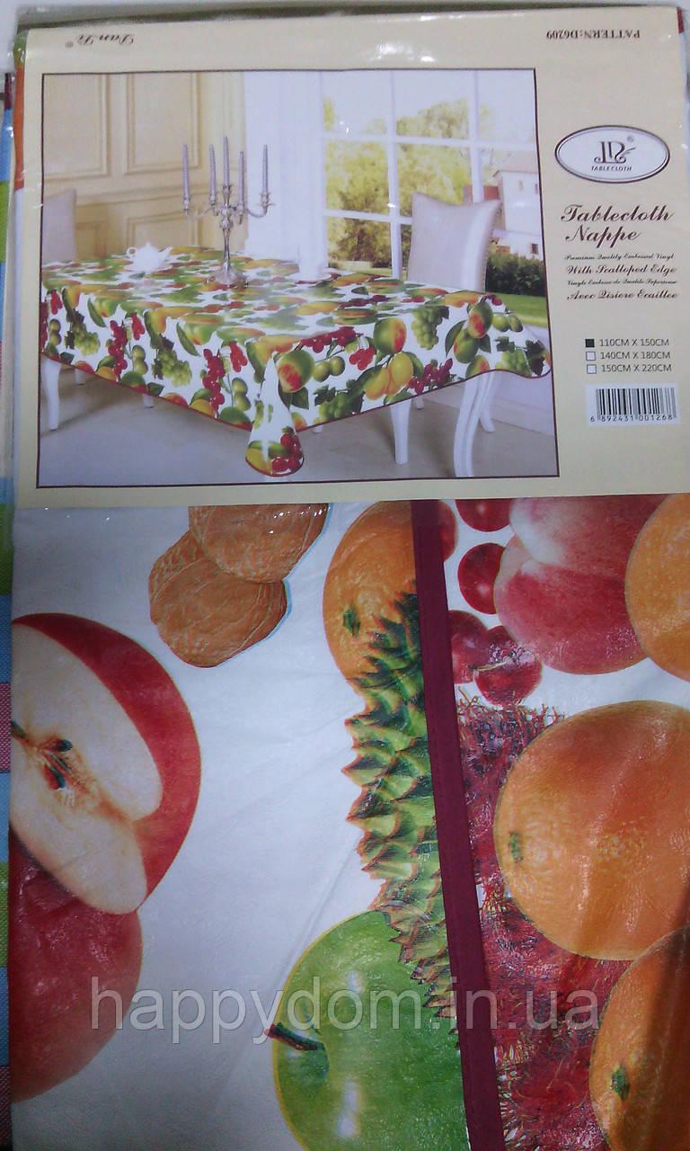 Скатерть на основе кухня фрукты