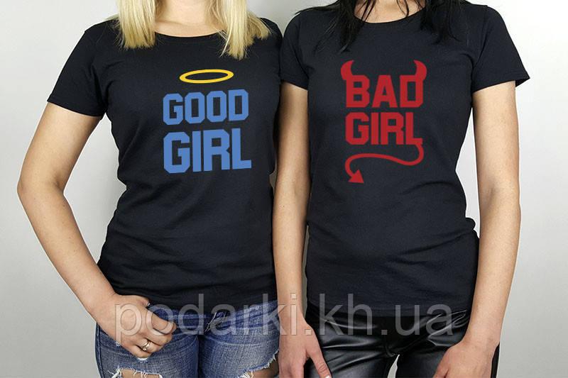Футболки для хороших и плохих девчонок