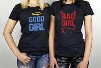 Футболки для хороших и плохих девчонок, фото 1