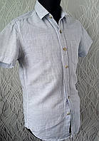 Рубашка  белая Сedar Wood State с короткий рукав Размер XS