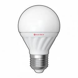 LED лампа Electrum глоб E27 5W(400Lm) 4000К LG-56 керам. корп.