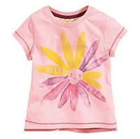 Детская футболочка летняя с ярким принтом для девочки.