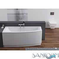 AQUAFORM ARCLINE Асимметричная ванна150x70 левая. (арт.241-05315)