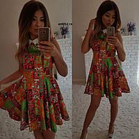 Летнее платье ат6012 гл