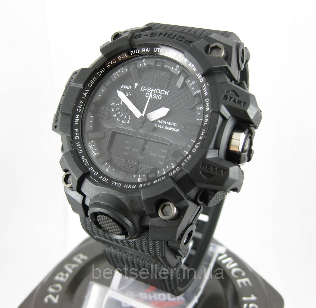 b4095289b773 Часы Casio G-Shock GWG-1000 Black. Реплика ТОП качества!, фото ...