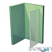 Aquaform NIGRA 103-09370 Боковая стенка 80 Хром/Прозрачный