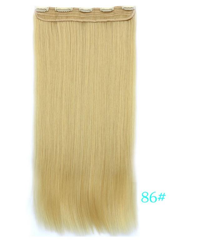 Накладні волосся тресс 60 см колір блонд