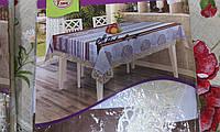Скатерть на основе, раскладной стол овал, фото 1