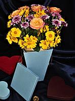 Цветочный горшочек , Подарочная упаковка, Цветочная Коробка.