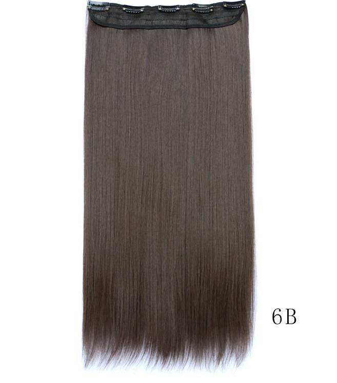Накладные волосы  на клипсах,шиньон,трессы 60 см цвет