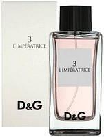 Тестер женской туалетной воды Dolce & Gabbana 3 L`Imperatrice