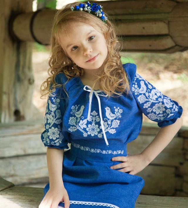 Вишите плаття для дівчинки на короткий рукав от Интернет-магазина ... aca290b67cba0