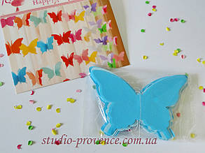"Гірлянда ""Метелик"" об'ємна 2,5 м голуба"