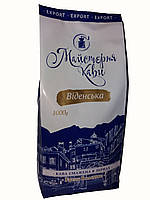 Кофе в зернах Майстерня Кави Вiденська 1 кг, фото 1