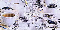 """Листовая панель ПВХ Регул мозаика """"Чайная церемония"""" 0,3мм 955*488мм"""