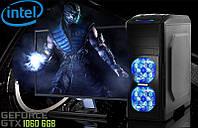 Игровой Мега Монстр ПК ZEVS PC13200U i5 7400 + GTX 1060 6GB +8GB DDR4 +ИГРЫ!