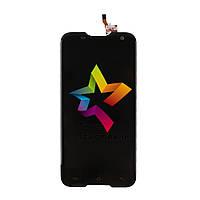 Дисплей для мобильного телефона GOCLEVER QUANTUM 2500 RUGGED, черный, с тачскрином