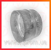 Муфта з оцинкованої сталі, діаметр 100-200 мм