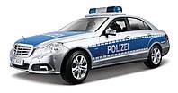 Автомодель (1:18) Mercedes Benz E-Class German Police version серебристо-синий MAISTO