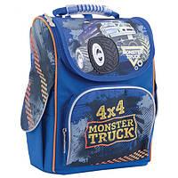 """Рюкзак школьный каркасный H-11 """"Monster Truck"""" 1 Вересня"""
