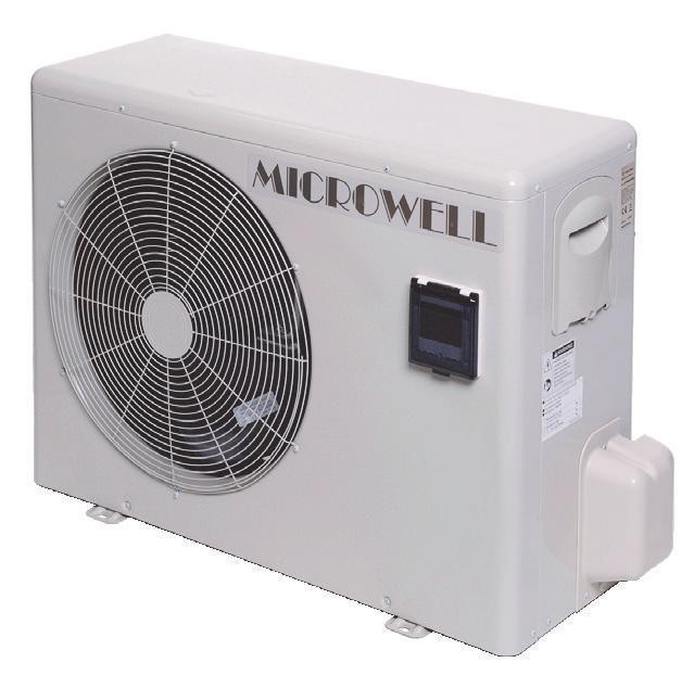 Тепловий насос MICROWELL HP1200 Split OMEGA