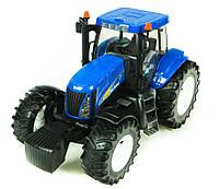 Игрушечный Трактор New Holland T8040 синий М1:16 BRUDER