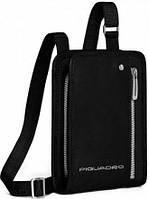 Вертикальная мужская наплечная сумка Piquadro Link, CA1933LK_N черный