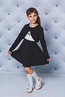 Костюм школьный болеро+юбка черный