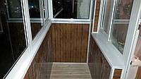 Внутренняя и внешняя отделка балконов, лоджий под ключ