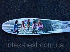Спортивный скейтборд (MS 0749) с алюминиевой подвеской, фото 2