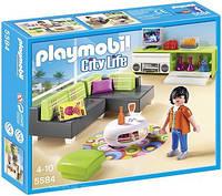 Особняки: Современная гостинная Playmobil 5584