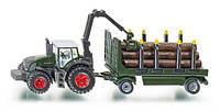 Трактор с прицепом для перевозки леса Siku (1861)