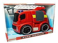 Пожарная машина с краном (свет, звук), BeiYu (A849523U)