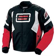 Мото куртка текстильная SHIFT Super Street S, M, XXL, красная  для спортбайков, мотардов и уличных мотоциклов