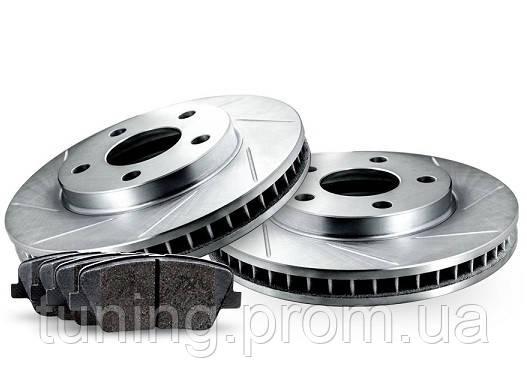 Комплект задних дисков и колодок RELIANCE BRAKE для Nissan Leaf 2011-2017