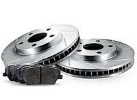 Комплект задних дисков и колодок RELIANCE BRAKE для Nissan Leaf 2011-2017, фото 1