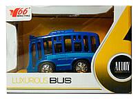 Автобус (свет звук) синий MingYuan (A872784MK-1)