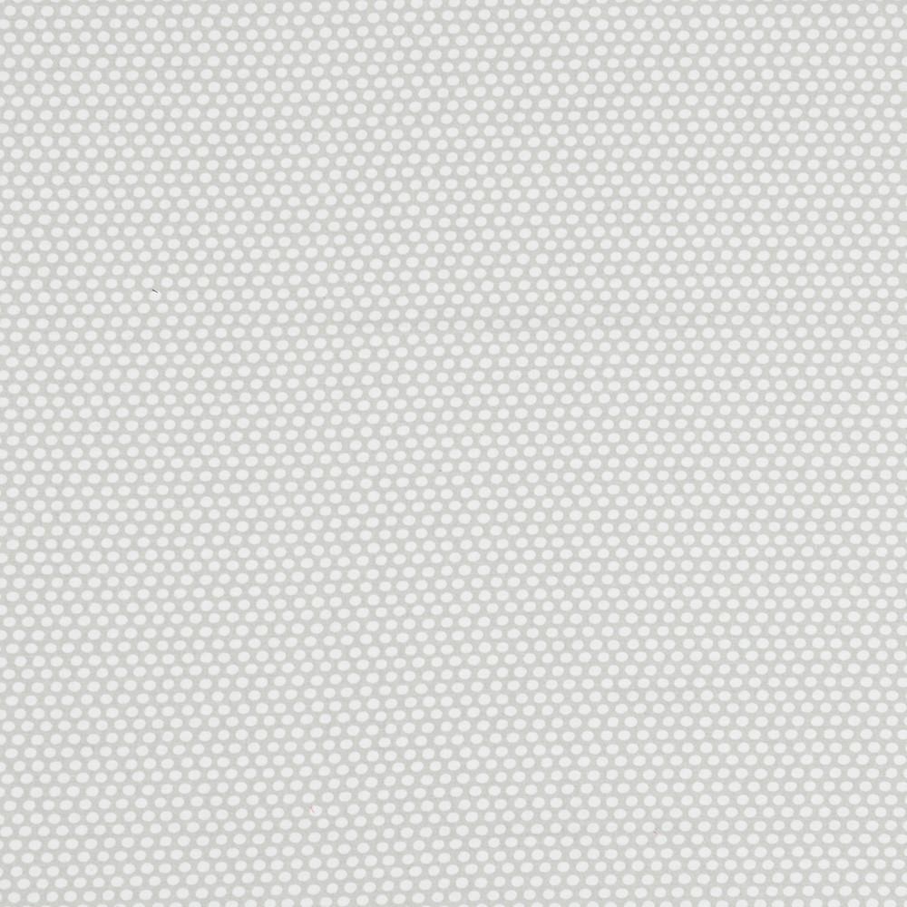 ✁ Отрез хлопковой ткани Горошки на светло-сером 100х80 см
