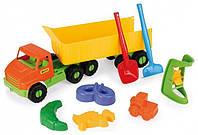 Игрушечный грузовик City Truck с прицепом 68 см (70380)