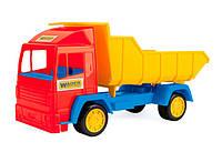 Mini truck - игрушечный самосвал (красная кабина), Wader  (39208-1)