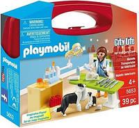 Визит к ветеринару Playmobil
