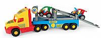 Super Truck эвакуатор, с авто-багги. Wader (36630)