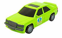 Игрушечная машинка авто-мерс зеленый, Wader (39004-2)