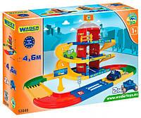 Паркинг 3 этажа с дорогой 4,6 м Kid Cars, Wader (53040)