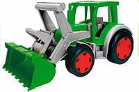 Трактор Гигант с ковшом, Wader (66015)